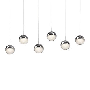 Thane Sphere 6-Light Cluster Pendant by Orren Ellis
