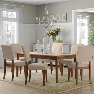 Crisp 7 Piece Dining Set Three Posts