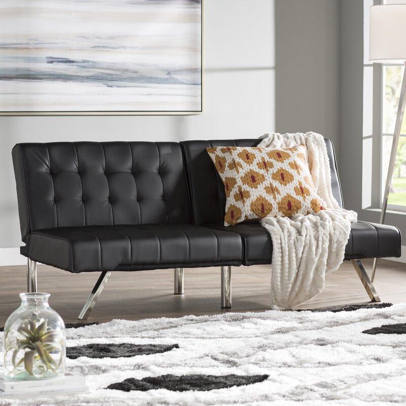Wade Logan Littrell Convertible Sofa & Reviews