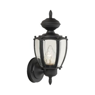Breeding 1-Light Outdoor Sconce by Charlton Home
