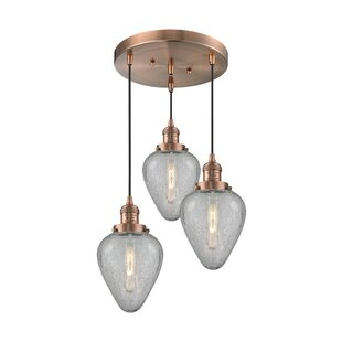 Bontrager 3-Light Cluster Pendant by Brayden Studio