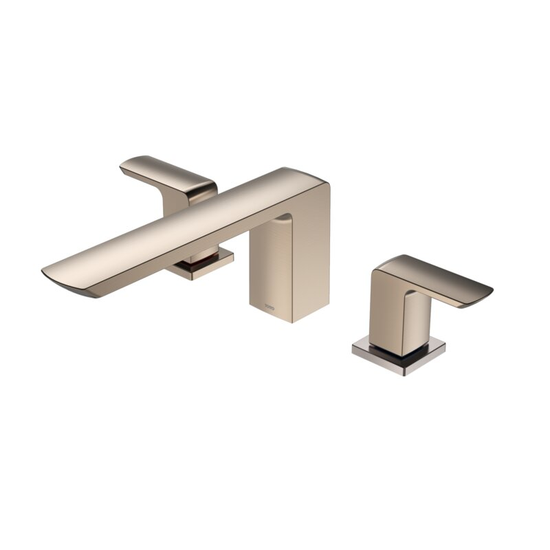Toto Double Handle Deck Mounted Roman Tub Faucet Trim With Diverter Perigold