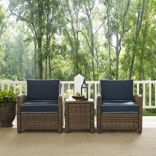 Find the perfect Dardel 3 Piece Conversation Set With Cushions Affordable