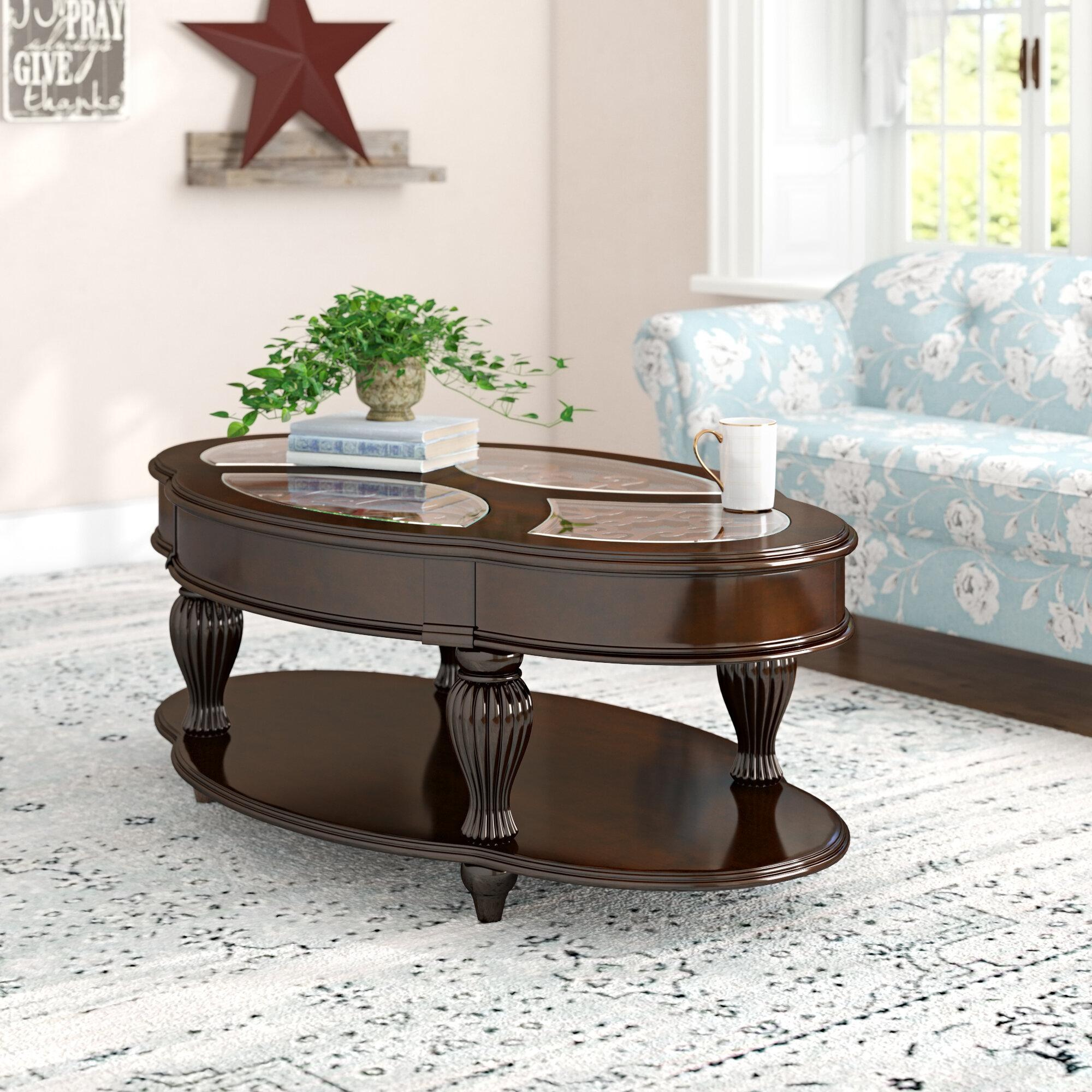 Astoria Grand Rhuddlan Coffee Table With Storage Reviews Wayfair