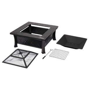 Labonte Steel Charcoal Fire Pit By Sol 72 Outdoor