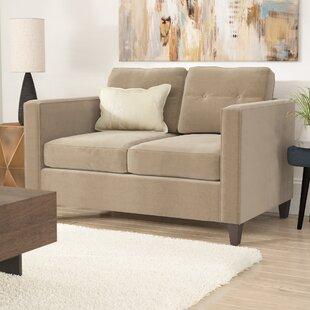 Affordable Serta Upholstery Dengler Loveseat by Ebern Designs Reviews (2019) & Buyer's Guide