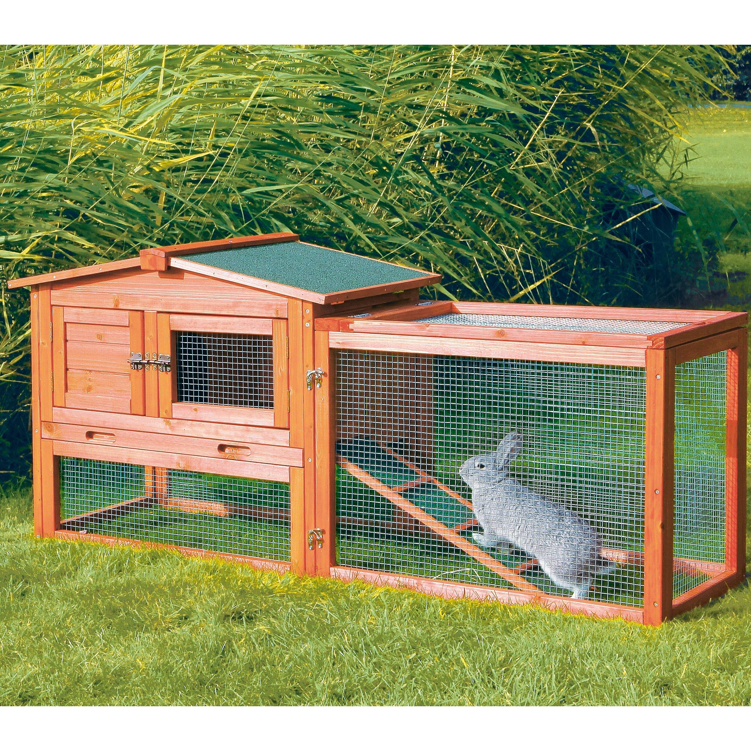 cfm wood boomer solid product george hayneedle hutch master rabbit white wash boomergeorgegraywashrabbithutch