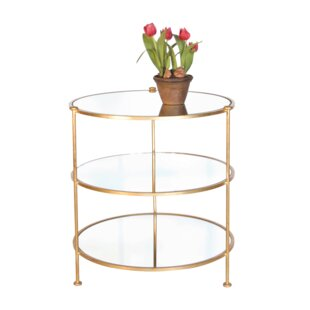 Worlds Away 3 Tier End Table