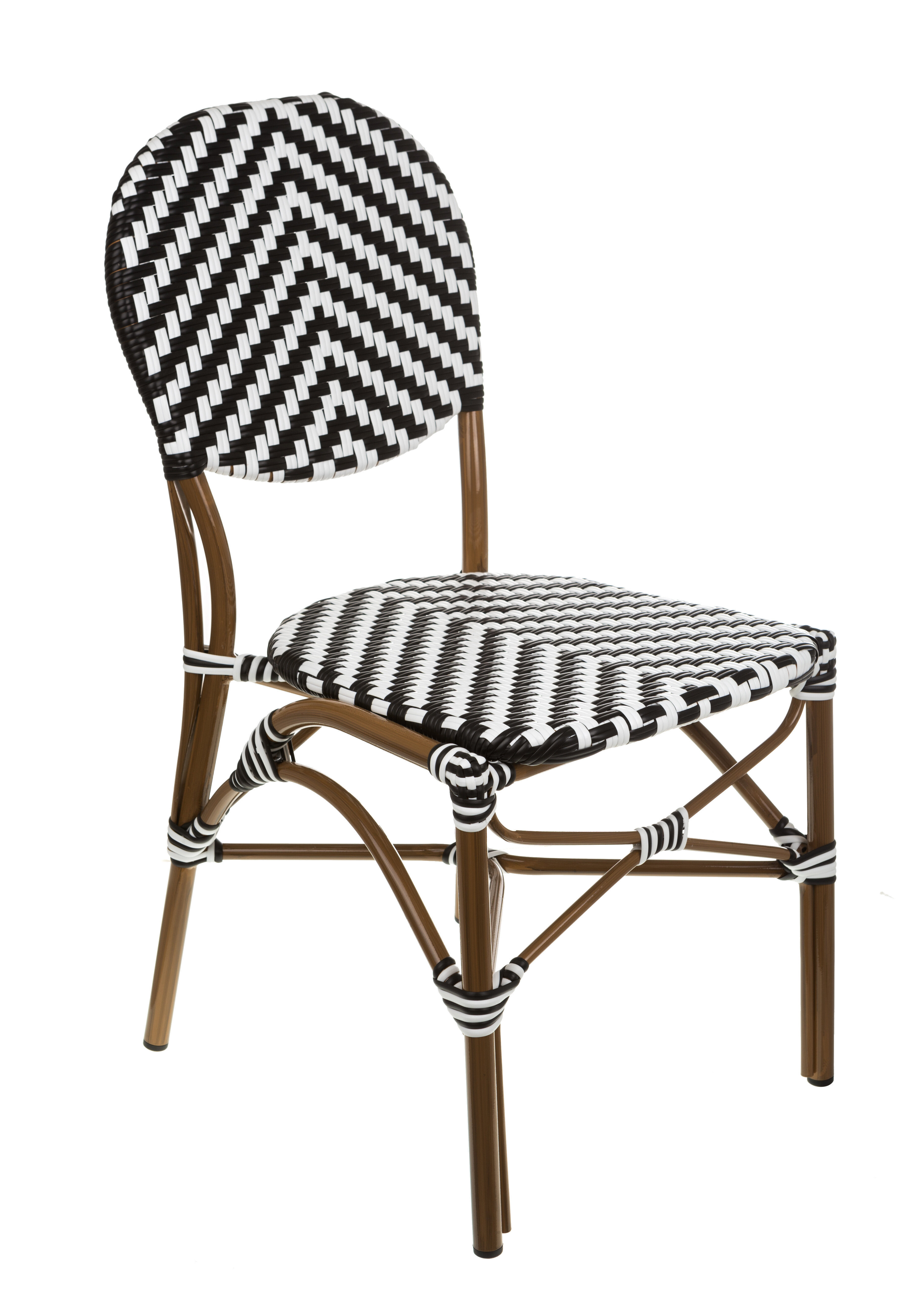 Brayden Studio Shadwick Bistro Stacking Patio Dining Chair
