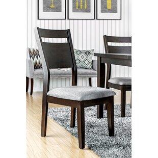 Brayden Studio Farrington Gurney Transitional Side Chair (Set of 2)