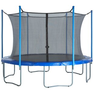 244cm Round Trampoline Net Using 6 Poles Or 3 Arches By Freeport Park