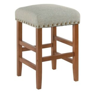 Desantis Wooden 24 Bar Stool by Gracie Oaks