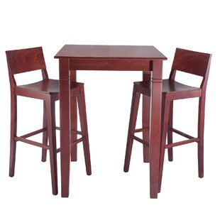 Tonasket 3 Piece Pub Table Set by Mistana