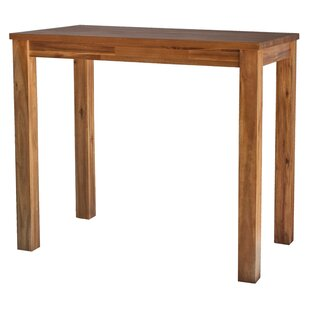 Yokum Solid Wood Dining Table Millwood Pines