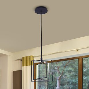 Cuthbertson 4-Light LED Geometric Chandelier by 17 Stories
