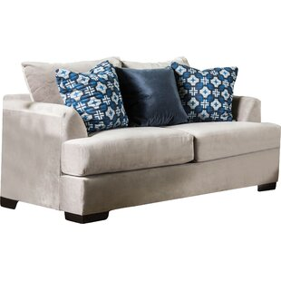 Hobartville Contemporary Loveseat by Latitude Run