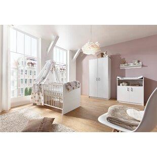 Classic White 3 Piece Nursery Furniture Set