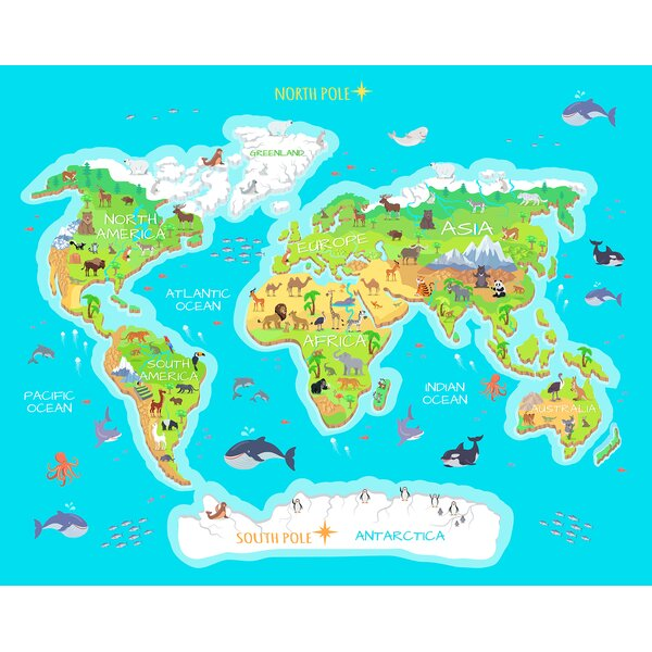 Kids world map wayfair gumiabroncs Images