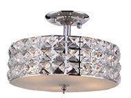 Rosdorf Park Mcdowell 3-Light LED Semi Flush Mount