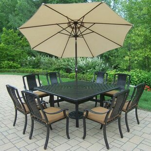 Oakland Living Vanguard 11 Piece Dining S..