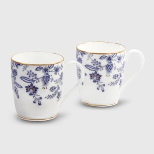 Blue Sorrentino 10 oz. Mug (Set of 2)