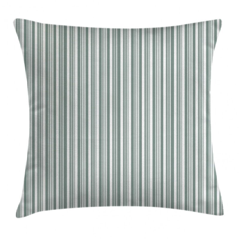 East Urban Home Vertical Thin And Bold Indoor Outdoor Striped 26 Throw Pillow Cover Wayfair
