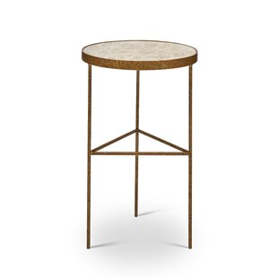 Low priced Crisp End Table by Bungalow Rose