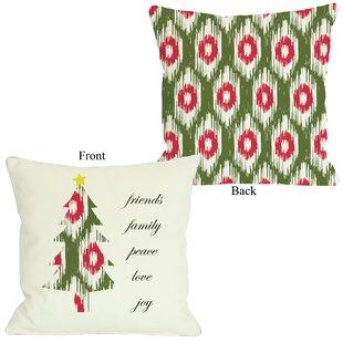 Christmas Ikat Throw Pillows You Ll Love In 2021 Wayfair