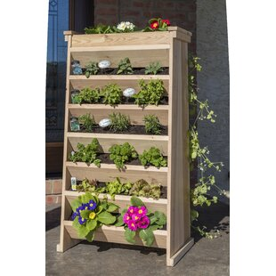 YardCraft Cedar Vertical Garden