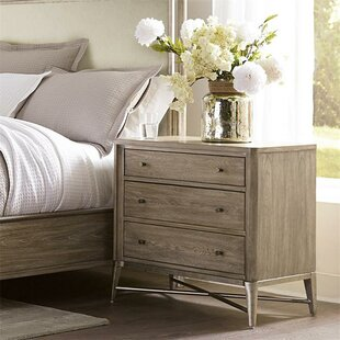 One Allium Way Almazan 3 Drawer Nightstand