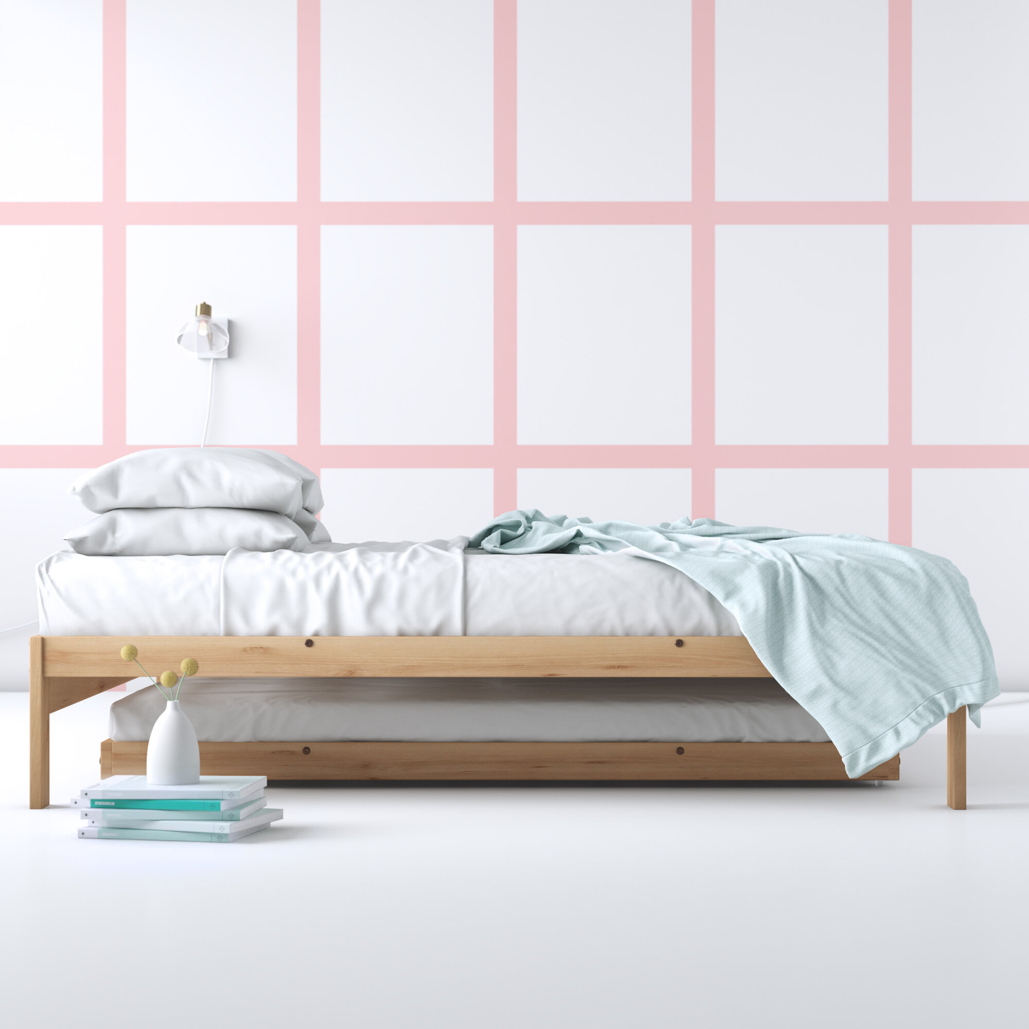 Picture of: Hashtag Home Warner Solid Wood Platform Bed Reviews Wayfair