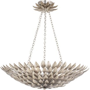 Compare prices Montes 6-Light Bowl Pendant By World Menagerie