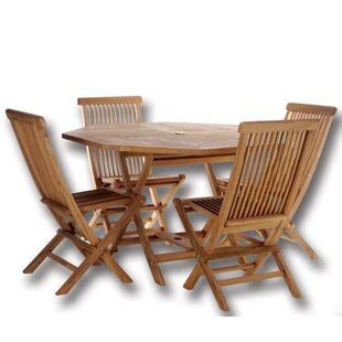 Humphrey 5 Piece Teak Dining Set