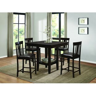 Diego 5 Piece Dining Set Homelegance