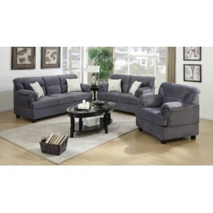 Penny 3 Piece Living Room Set By A&J Homes Studio