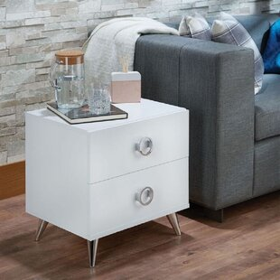 Saroyan 2 Drawer Nightstand
