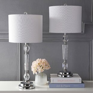 Franklyn Crystal 27 Table Lamp Set (Set of 2)