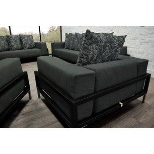 Orren Ellis Tilly 3 Piece Sofa Set with Cushions