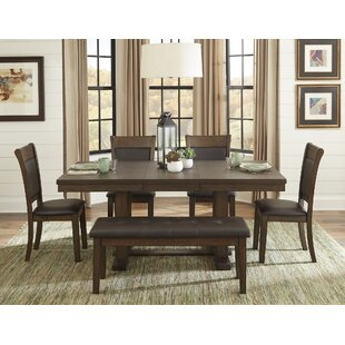 Saulsberry 6 Piece Dining Set