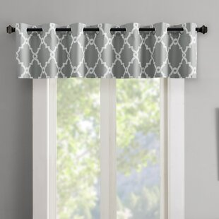 curtain dp teal com with window amazon gray valance and decorator topper turquoise white fabric
