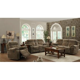 Savings Victor Reclining Configurable Living Room Set by Wildon Home® Reviews (2019) & Buyer's Guide