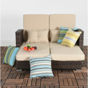 Bay Isle Home Cabrillo Patio Daybed with ..