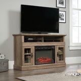 Brie TV Stand for TVs up to 60 with Electric Fireplace Included by Alcott Hill®