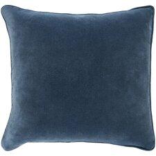 Garret Square Cotton Velvet Pillow Cover