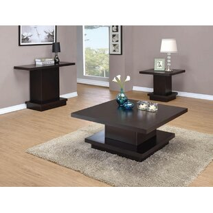 Darold 3 Piece Coffee Table Set