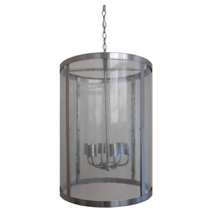 Latitude Run Alegria 6-Light Cylinder Pendant
