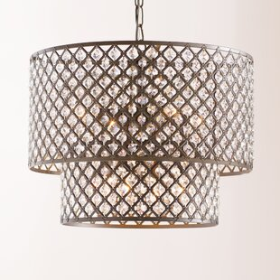 Cottonwood 8 Light Drum Chandelier