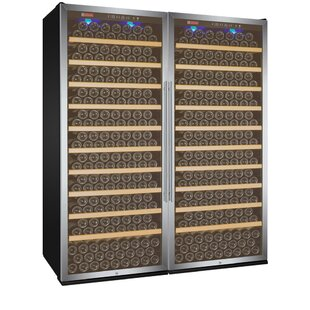 610 Bottle Vite Series Dual Zone Freestanding Wine Cellar