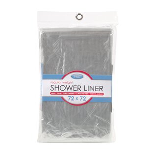 Symple Stuff Plastic Single Shower Curtain Liner By Symple Stuff