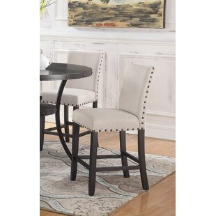 Low priced Carylon Counter Height Upholstered Dining Chair (Set of 2) by Darby Home Co Reviews (2019) & Buyer's Guide